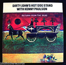DIRTY JOHN'S HOT DOG STAND-Kenny Paulson-Return from the Dead Promo LP-AMSTERDAM