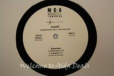 "Avant, Separated (VG) LP 12"" Promo"