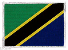"Tanzania Embroidered Patch 12 X 9CM (4 3/4"" X 3 1/2"")"
