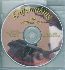 Knifemaking with William White DVD/bladesmithing/knives
