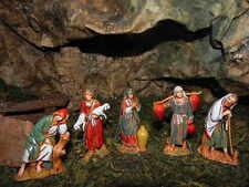 "Landi 2.5""Nativity Scene Figurines Creche Manger Presepio Pesebre Pastores"