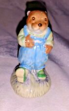 ROYAL ALBERT Figurine Wind in the Willows PORTLY 1988