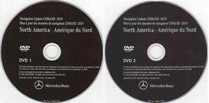 NEW Mercedes Benz 2019 NTG4 204 Navigation DVD Map Update North America V19