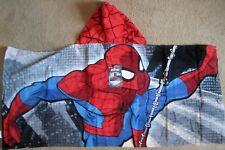 Amazing Spider-Man Cotton Hooded Poncho Bath Beach Towel Marvel Comics NEW