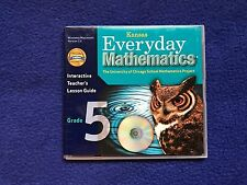 Everyday Math KS mathematics CD INTERACTIVE TEACHERS Lesson GUIDE 5th GRADE 5