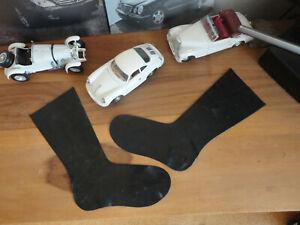 NEU Latex Socken Gr M Rubber Latexsockene schwarz Black Domina Fetish