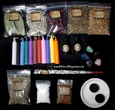 Starter Witch Kit Spell Set of Herbs,Candles,magical oil,Wiccan,Pagan,witchcraft