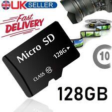 Nuevo 128GB Tarjeta Micro SD clase 10 TF Flash Memoria SDHC SDXC - 128G-vendedor de Reino Unido