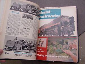 Model Railroader Magazine Bound Volume 32, 1965