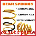 HOLDEN COMMODORE VL VN VP 6 CYL SEDAN L/A SPORTS 86-93 REAR LOWERED 30MM SPRINGS