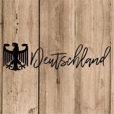 Vinilo de Corte Alemania Deutchland Pegatina Aguila Alemania 20 cm Adhesivo Moto