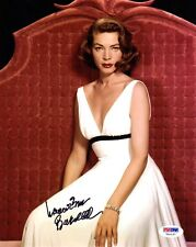 LAUREN BACALL SIGNED AUTOGRAPHED 8x10 PHOTO HOLLYWOOD SCREEN LEGEND PSA/DNA