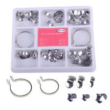 100pcs Dental Sectional Contoured Metal Matrices 2 Ring No.1.398lmws 35 Um Hard