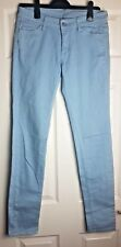 Uniqlo Denim Skinny Stretchy Fit Tapered Blue Jeans Size W 27 x 33