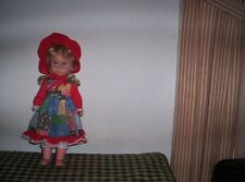 Vin Uneeda 1963 Holly Hobbie Doll Hard Plastic Body 15 Inch Rare Find Poseable