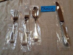 Degrenne 104543 Blois Stainless Steel 7 Dessert//Salad Fork