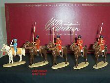 Britains 40167 maharajah de patiala + lanciers delhi durbar metal toy soldier set