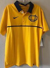 Nike Dri Fit  Sz L University Of Oregon Webfoots Elite Throwback Polo Shirt NWT