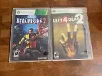 Left 4 Dead 2 + Dead Rising 2 Game Bundle (Microsoft Xbox 360, 2008)