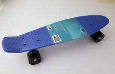 For Sport Skateboard Blau 55 cm Mini Cruiser ABEC 7 Kugellager Retro Stil Rollen