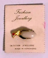 Novelty Penguin Pin - Vintage 1960's Carded  Dime Store Jewelry