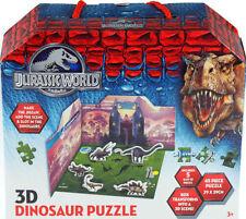 Jurassic World 3d 45 Piece Dinosaur Puzzle