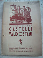 1930 VALLE D'AOSTA 'CASTELLI VALDOSTANI' DI G. BROCHEREL