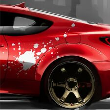 2x Splash FLECKEN á 1m Seitenaufkleber Design Autoaufkleber Tuning Folie DUB S45