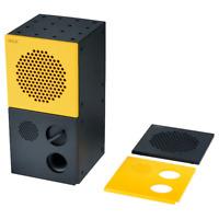 *New* FREKVENS Speaker, black, yellow, 10x20 cm 204.311.26 *Brand IKEA*
