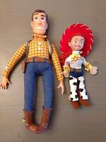 2 Stück Figuren Woody Sheriff und Jessie Toy Story