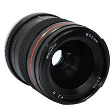 Marco completo de 35 mm f/2.0 Lente fijo de enfoque manual Prime Fr Canon EOS EF montaje de cámara