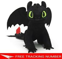 "12"" TOOTHLESS How to Train Your Dragon 3 DreamWorks Hidden Toys Movie Doll Plush"