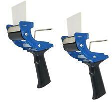 Set Of 2 Tape Dispenser Gun 3 Inch Mousetrap Style Light Durable Tape Gun
