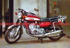 SUZUKI GT 750 (2) Carte Postale Moto Motorcycle Postcard