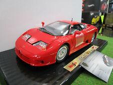 BUGATTI EB110 Coupé rouge au 1/18 d MAISTO 31808 voiture miniature de collection