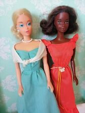 Barbie & Quick Curl Cara auf Sunsational Malibu Körper 70er vintage TLC alt lot