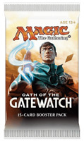 * Oath of the Gatewatch - Booster Pack x 1 * Brand New From Sealed Box MTG
