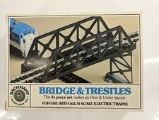 N Scale Bachmann Over / Under Bridge and Trestles 31 Piece Set #7550 Used