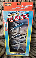 MATCHBOX Diecast Metal SKY BUSTERS Toy Airplane & Helicopter Set NEW IN BOX!