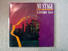 Single / MUSTAGE / LIFETIME LOVE / NEW WAVE AUSTRIA / AMADEO / RARITÄT /