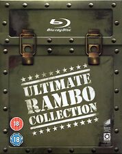 Ultimate Rambo Collection - 4 Disc Blu-Ray - Limited Edition -Sylvester Stallone