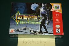 Castlevania: Legacy of Darkness (Nintendo 64 N64) NEW FACTORY SEALED, RARE!