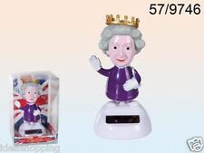 Queen, in base di plastica con panello solare, ca 11 cm regina Flip Flap Solar
