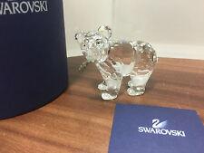 SWAROVSKI Figura Orso con pesce in bocca 5,5 cm con OVP & CERTIFICATO