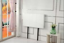 White Single Headboards & Footboards for Beds