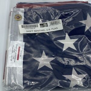 3ft x 5ft USA Printed Polyester Cotton Flag Made sentinel U.S
