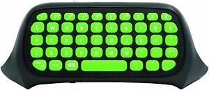 Snakebyte Key:Pad™ für Xbox One grün/schwarz Kabellose Tastatur für Texteingabe
