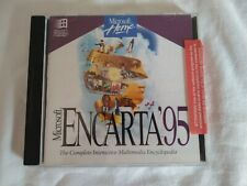 Microsoft Encarta 95 Encyclopedia Windows PC CD ROM - Vintage Retro