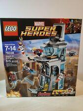 Lego Marvel Attack On Avengers Tower (76038) New & Sealed, Slightly Damaged Box