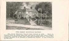 Postcard Vermont Bennington Green Mountain Tavern Catamount Tavern c1907-20s